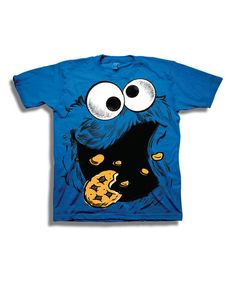 Another great find on  zulily! Blue Cookie Monster Tee - Boys by Sesame  Street 5bfcbc995b07