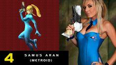 4- Samus Aran de Metroid