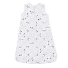 image of aden + anais® Muslin Lovestruck Wearable Blanket in White/Grey