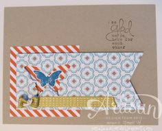 Glad Butterfly - SAB | created by Jane Lee http://janeleescards.blogspot.com
