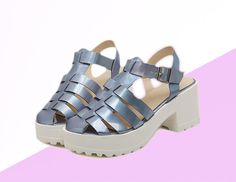 Happy shopping  Color: BLUE Shoes size: 35-39 platform high: 3.5-7 cm  It is very Trendy for mix and match !!
