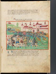Bern, Burgerbibliothek, Mss.h.h.I.1, f. 75 – Diebold Schilling, Amtliche Berner Chronik, vol. 1