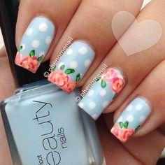Uas pastel nails | See more at www.nailsss.com/...  | See more nail designs at www.nailsss.com/...