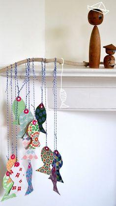 Handmade Gifts Ideas : DIY paper fish...  https://diypick.com/diy-gifts/handmade-gifts-ideas-diy-paper-fish/