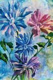 SOMETHING ABOUT FLOWERS DONE IN WATERCOLORS, JUST BEAUTIFUL!!