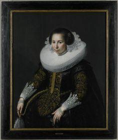 Paulus Moreelse, Portrait of Catharina van Voorst (Utrecht 1595-1650), 1628 | Minneapolis Institute of Arts - The Collection
