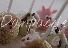 Popcakes tema Fazendinha
