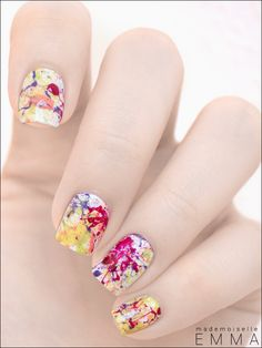 Splatter Nails!