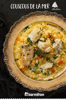 Take off with this easy recipe for sea couscous with white fish! Easy Smoothie Recipes, Good Healthy Recipes, Salad Recipes, Snack Recipes, Cooking Recipes, Snacks To Make, Coconut Recipes, Food Website, Easy Meals