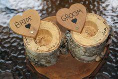 custom wood wedding ring box - great gift!
