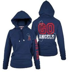 Victoria's Secret Pink Bling Los Angeles Angels of Anaheim MLB Hoodie Jacket $49.99