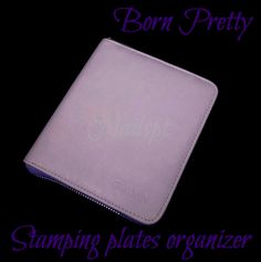 BORN PRETTY NAIL STAMPING PLATES ORGANIZER http://nailspt.blogspot.pt/2014/08/born-pretty-nail-stamping-plates.html
