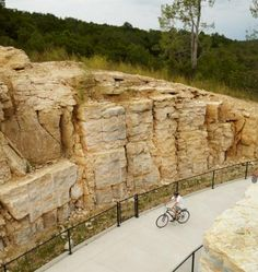 Iowa's Trout Run bike trail passes sparkling waters, sculptures and a mosaic on an 11-mile loop in Decorah. More favorite bike trails: http://www.midwestliving.com/travel/around-the-region/14-great-midwest-bike-trails/?page=4,0