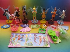 Disney Fairies Complete Set Kinder Surprise