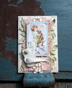 Beautiful Little Darlings card from Tatiana Rognjina shared on our Ning gallery! #graphic45 #cards