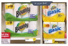 Bounty+Paper+Towels,+Only+$0.43+per+Roll+at+Target!