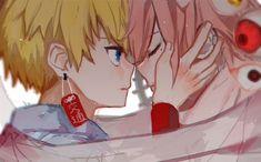 Cute Anime Wallpaper, Cute Cartoon Wallpapers, Otaku, Video Game Anime, Anime Crossover, I Love Anime, Fujoshi, Anime Couples, Cute Art