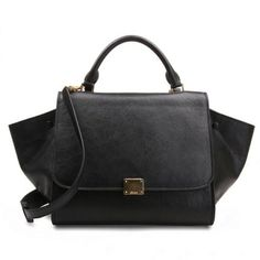 Mary Jane Paul stuns us with this Celine Trapeze Shoulder Leather ...