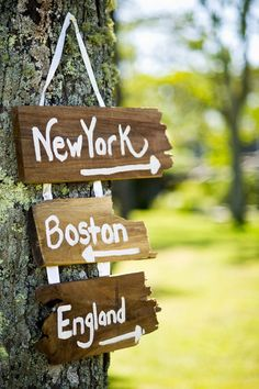 Or: Los Angeles, Rhode Island, Boston, Arizona ect.  Where ever our guests are coming from!
