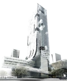 Shenzhen Four Towers in One Competition | Morphosis - Arch2O.com