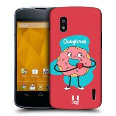 HEAD CASE DOUGHNUT PERFECT MATCH DESIGN HARD BACK CASE COVER FOR LG NEXUS 4 E960 | eBay Perfect Match, Doughnut, Cover, Ebay, Design