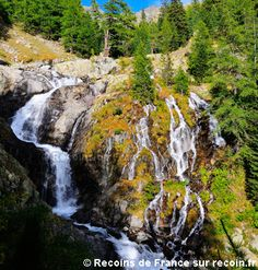 Randonnée, Cascade de Peirastrèche, Mercantour, Alpes Maritimes