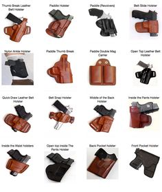 You need a concealed carry holster in order to carry a gun because the goverments makes you get one. Diy Leather Holster, Best Concealed Carry Holster, Edc, Tactical Wear, Iwb Holster, Airsoft Gear, Leather Projects, Guns And Ammo, Hand Guns