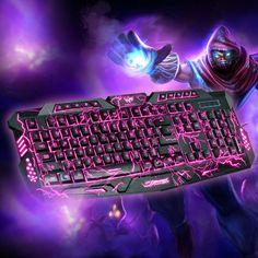 Wired Gaming USB LED Keyboard