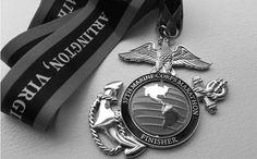 Marine Corps Marathon Finisher Medal