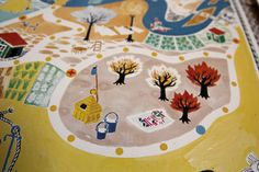 Muumipeli - Moomin map game