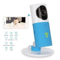 Coplux Best Baby Monitor with Night Version , Wifi Baby Camera with Motion Detect, Ip Camera with Two Way Talk and Audio,for Iphone and Android Smart Phones and Tablets Wireless Home Security Cameras, Wireless Camera, Time Lapse Camera, Best Waterproof Camera, Audio, Android, Baby Monitor, Iphone, Wifi