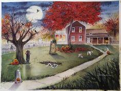 Denise Cocchiaro Halloween Artwork and Fantasy Artwork