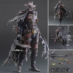 DC Comics Variant Play Arts Kai Figures - Batman Timeless Wild West