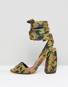 7a1111548838 ASOS   ASOS HARVEST Heeled Sandals Sneaker Boots, Heels, Heeled Sandals,  Asos,