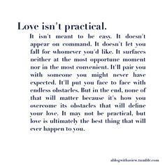 ..define your love