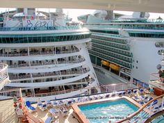 Freedom of the Seas, Carnival Triumph, Caribbean Princess- Philipsburg, St. Maarten