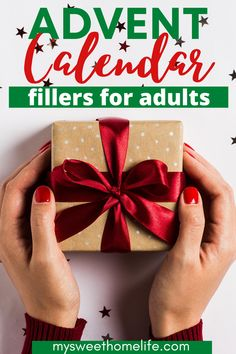 Christmas magic isn't just for the kids! Create Christmas anticipation with these advent calendar fillers for adults. Adult Advent Calendar, Advent Calendar Fillers, Cool Advent Calendars, Advent Calendar Activities, Advent Calendar Gifts, Advent Calenders, Kids Calendar, Event Calendar, Calendar Ideas