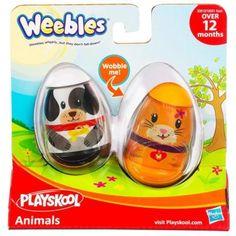 Toddler Easter Basket Idea: Weebles use like eggs
