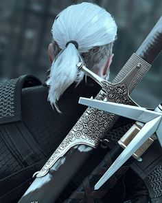Geralt of Rivia : witcher The Witcher 3, Witcher 3 Geralt, The Witcher Series, The Witcher Wild Hunt, The Witcher Books, Witcher Art, Ciri, Geralt Of Rivia Cosplay, Witcher Wallpaper