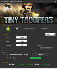Tiny Troopers Alliance Hack Tool
