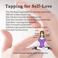 Tapping for self-love