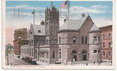 New Bedford Massachusetts Hazelwood Park Vintage Postcard