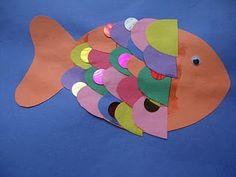 rainbow fish craft  cute octopus craft from bottle