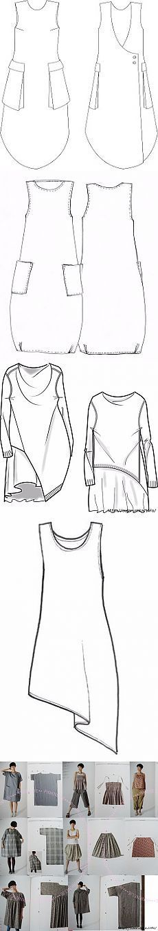 New Diy Fashion Boho Inspiration Ideas Diy Clothing, Clothing Patterns, Dress Patterns, Sewing Patterns, Sewing Dress, Sewing Clothes, Smock Dress, Sewing Hacks, Sewing Tutorials