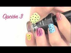 Pintado de uñas rápidos de colores