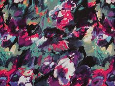 Fabric Godmother - Painterly Floral Stretch Cotton - Black, £18.00 (http://www.fabricgodmother.co.uk/painterly-floral-stretch-cotton-black/)