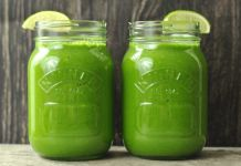 Say Goodbye To Belly Bloat and Inflammation with this Pineapple Lime Green Smoothie