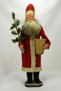 Antique German Santa Candy Container ca1910 in Collectibles, Holiday & Seasonal, Christmas: Vintage (Pre-1946), Figures, Santa | eBay