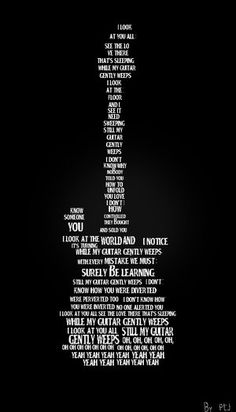 Beatles Lyrics Quote Poster Pin By Elianny Mercedes Reyes On Musica