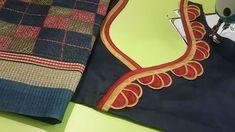 Best 12 Patch Work Blouse Designs, Simple Blouse Designs, Stylish Blouse Design, Kurti Neck Designs, Designer Blouse Patterns, Fancy Blouse Designs, Blouse Neck Designs, Sleeve Designs, Dress Designs